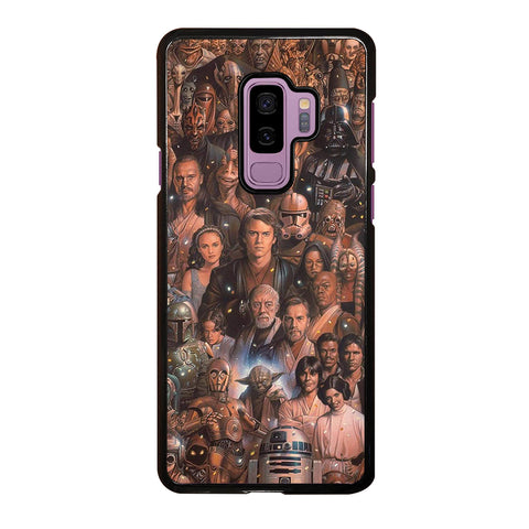 Star Wars Movie Collage Samsung Galaxy S9 Plus Case