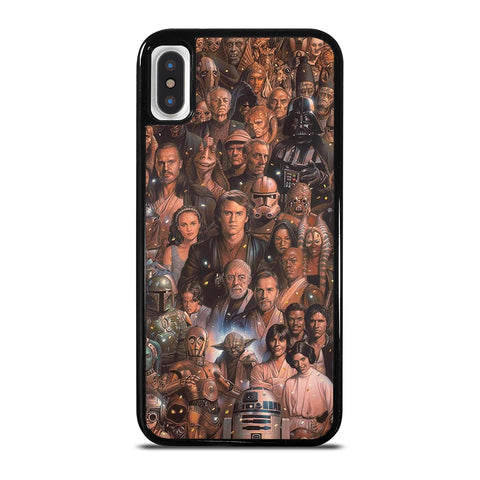 Star Wars Movie Collage iPhone X / XS Case