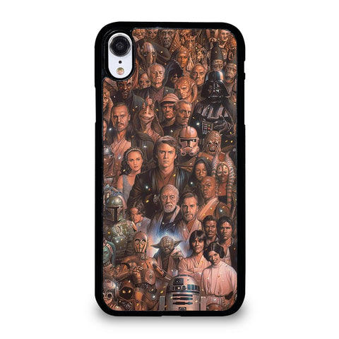 Star Wars Movie Collage iPhone XR Case