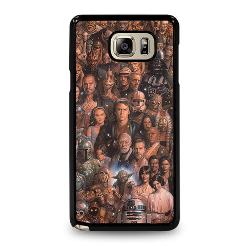 Star Wars Movie Collage Samsung Galaxy Note 5 Case