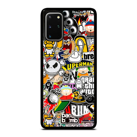 Sticker Bomb Collage Samsung Galaxy S20 Plus / S20 Plus 5G Case