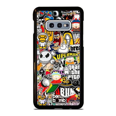 Sticker Bomb Collage Samsung Galaxy S10e Case