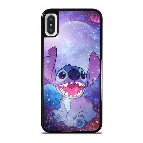Stitch Cartoon Galaxy iPhone X / XS Case