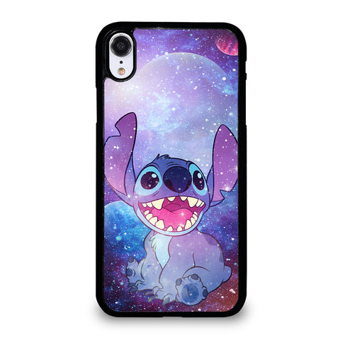 Stitch Cartoon Galaxy iPhone XR Case