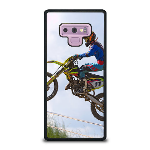 Stunt In Motocross Dirt Bike Samsung Galaxy Note 9 Case