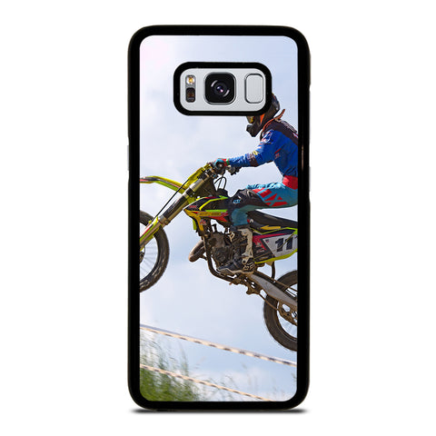Stunt In Motocross Dirt Bike Samsung Galaxy S8 Case