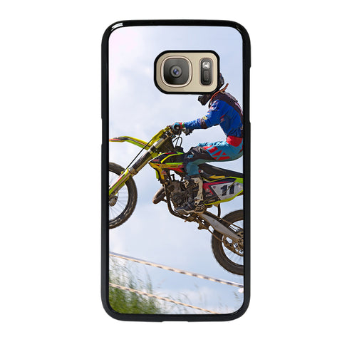 Stunt In Motocross Dirt Bike Samsung Galaxy S7 Case