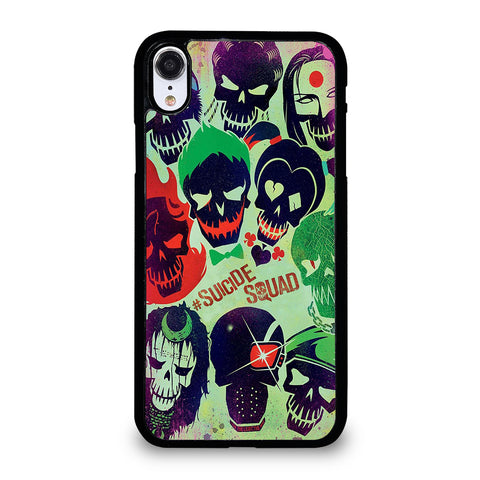 Suicide Squad Collage iPhone XR Case