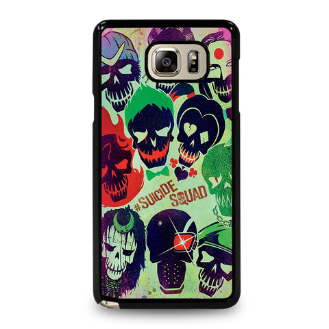 Suicide Squad Collage Samsung Galaxy Note 5 Case