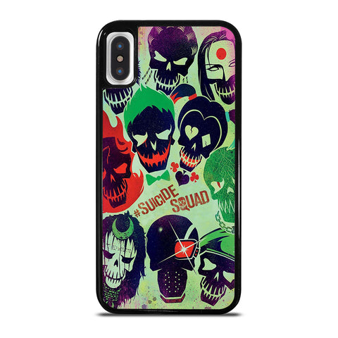 Suicide Squad Collage iPhone X / XS Case