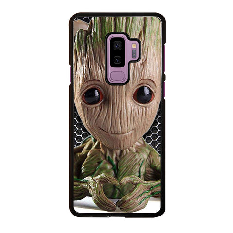 Super Cute Baby Groot Samsung Galaxy S9 Plus Case