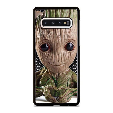 Super Cute Baby Groot Samsung Galaxy S10 Case