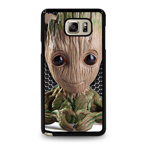 Super Cute Baby Groot Samsung Galaxy Note 5 Case