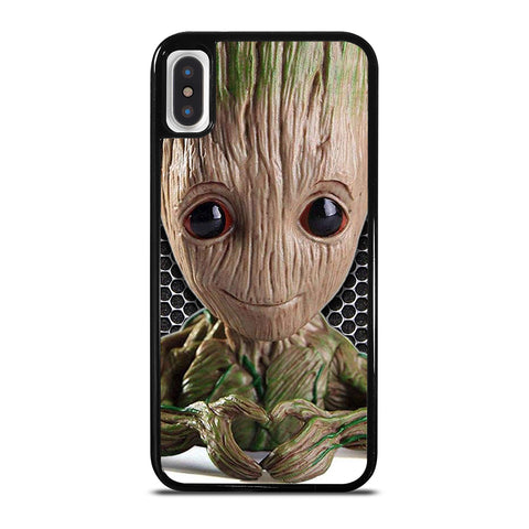 Super Cute Baby Groot iPhone X / XS Case