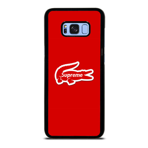 Supreme Red Wallpaper Samsung Galaxy S8 Plus Case