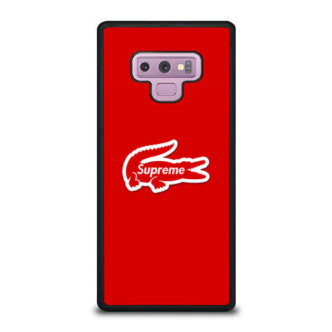 Supreme Red Wallpaper Samsung Galaxy Note 9 Case