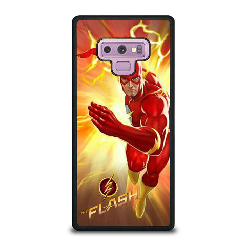 THE FLASH CHARACTER Samsung Galaxy Note 9 Case