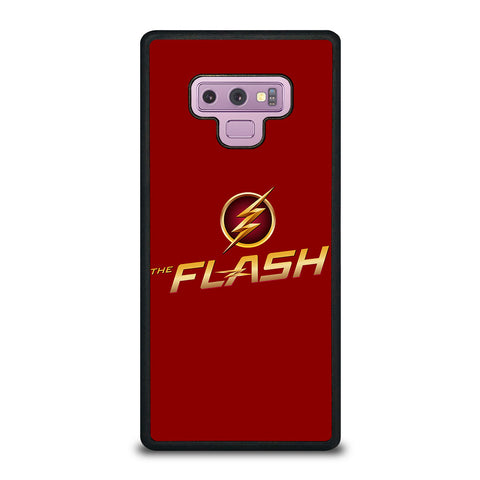 THE FLASH IN RED Samsung Galaxy Note 9 Case