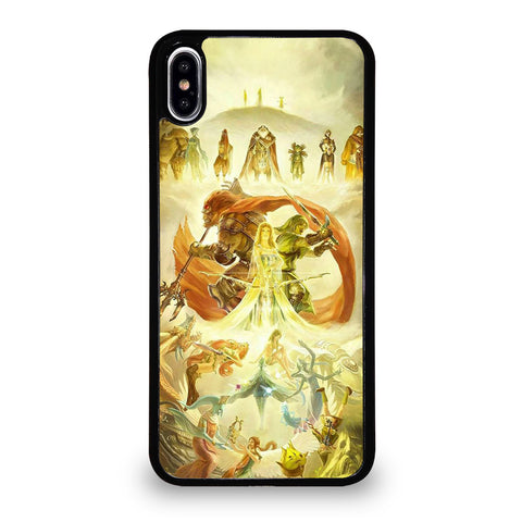 THE LEGEND OF ZELDA ABSTRACT iPhone XS Max Case