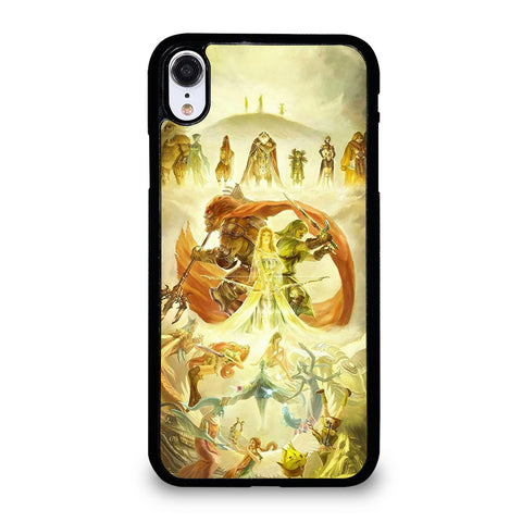 THE LEGEND OF ZELDA ABSTRACT iPhone XR Case