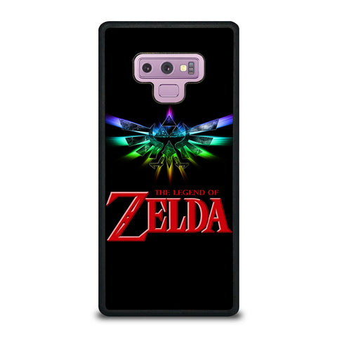 THE LEGEND OF ZELDA LOGO Samsung Galaxy Note 9 Case