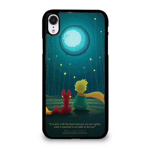 THE LITLE PRINCE QUOTE iPhone XR Case