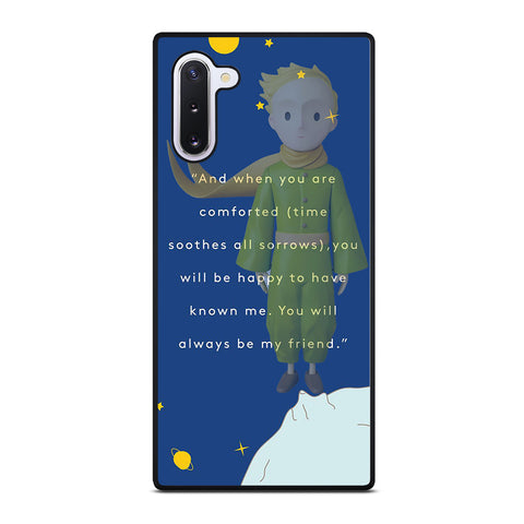 THE LITTLE PRINCE QUOTE CASE Samsung Galaxy Note 10 Case