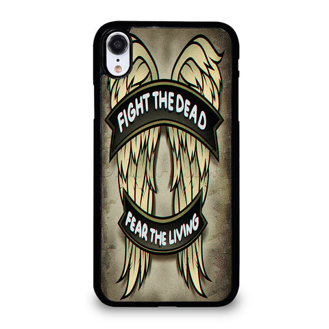 THE WALKING DEATH DIXON WINGS iPhone XR Case