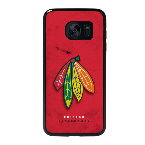 The Chicago Blackhawks Samsung Galaxy S7 Edge Case