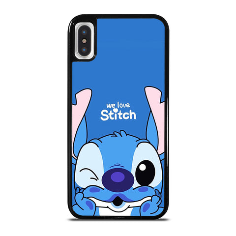 The Cute Stitch Cartoon Galaxy iPhone X / XS Case