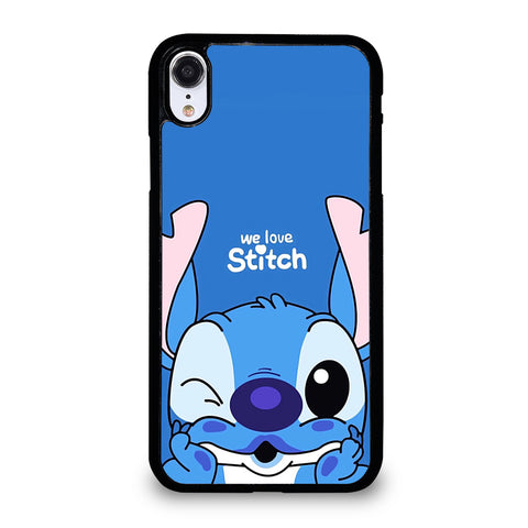 The Cute Stitch Cartoon Galaxy iPhone XR Case