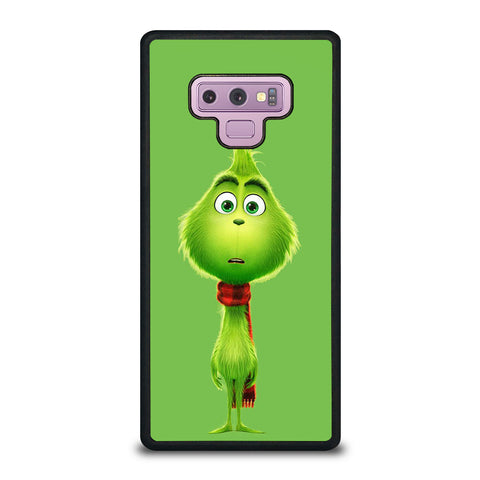 The Grinch Flat Face Samsung Galaxy Note 9 Case