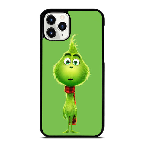 The Grinch Flat Face iPhone 11 Pro Case