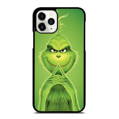 The Grinch Green Cartoon iPhone 11 Pro Case