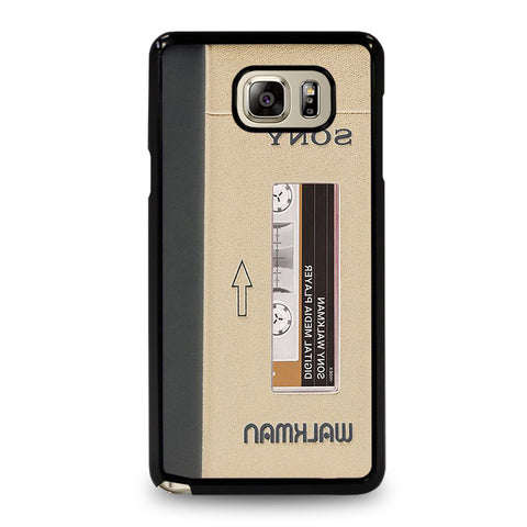 The Walkman Cassette Samsung Galaxy Note 5 Case