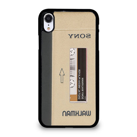 The Walkman Cassette iPhone XR Case