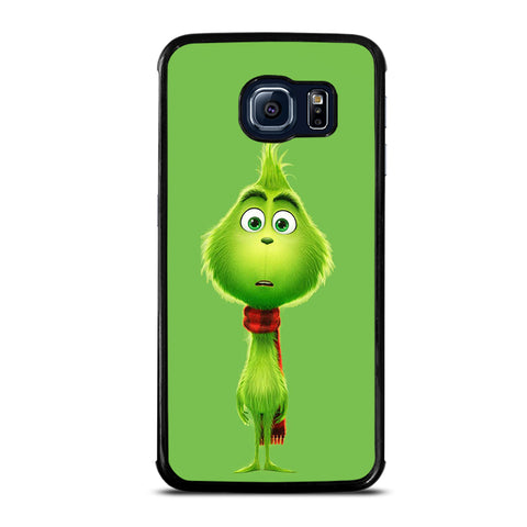The Grinch Flat Face Samsung Galaxy S6 Edge Case