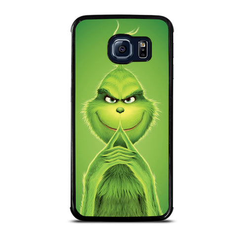 The Grinch Green Cartoon Samsung Galaxy S6 Edge Case