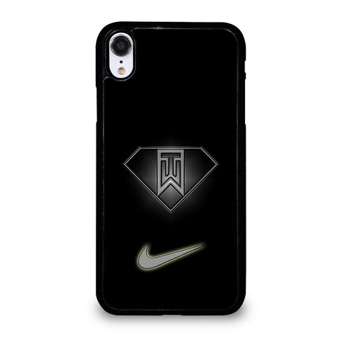 Tiger Woods Nike Logo iPhone XR Case