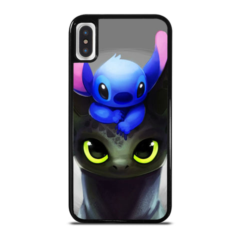 Toothless And Stitch Paint iPhone X / XS Case