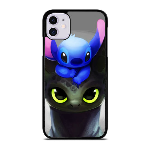 Toothless And Stitch Paint iPhone 11 Case