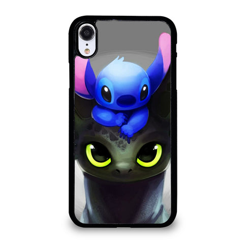 Toothless And Stitch Paint iPhone XR Case