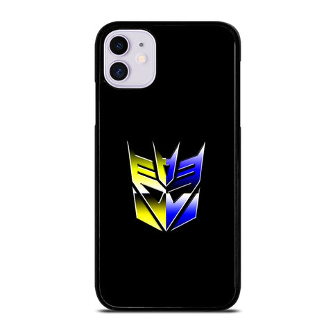 Transformers Decepticons Rainbow Logo iPhone 11 Case