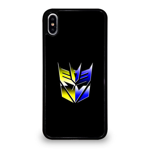 Transformers Decepticons Rainbow Logo iPhone XS Max Case