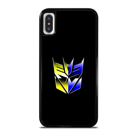 Transformers Decepticons Rainbow Logo iPhone X / XS Case