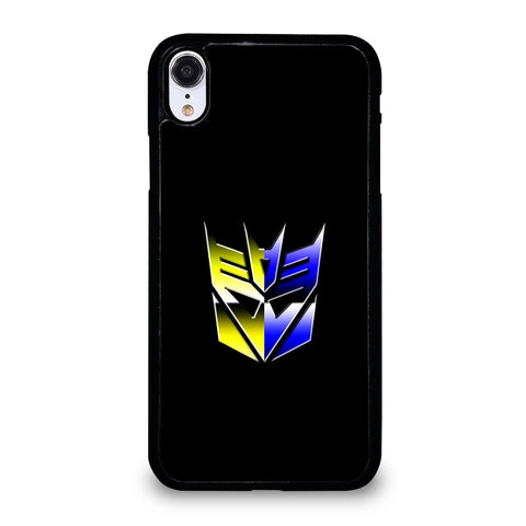 Transformers Decepticons Rainbow Logo iPhone XR Case