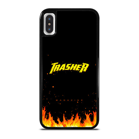 Trasher Smoldering Font iPhone X / XS Case