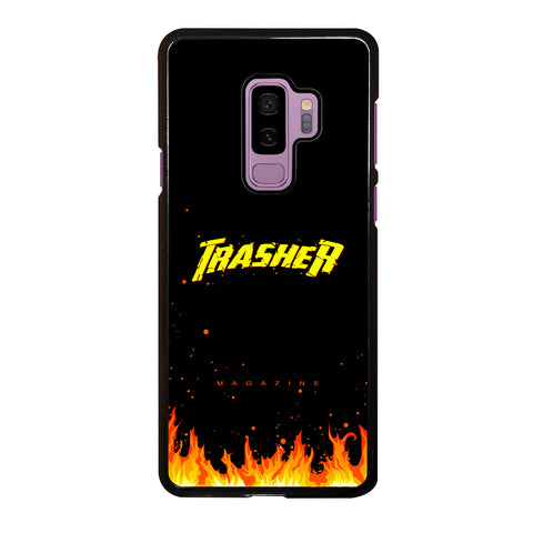 Trasher Smoldering Font Samsung Galaxy S9 Plus Case