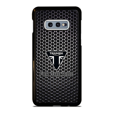 Triumph For The Ride Logo Samsung Galaxy S10e Case