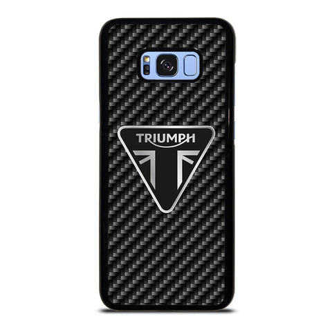 Triumph Motorcycle Carbon Logo Samsung Galaxy S8 Plus Case